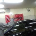 スバル レガシィーツーリングワゴン ガラスコーティング「NS‐ONE」施行行程