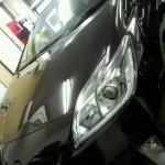 トヨタ プリウス オリジナルガラスコーティング「NS-ONE」施行行程