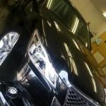 トヨタ クラウンハイブリッド ガラスコーティング「NS‐ONE」施工