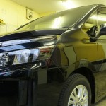 トヨタ ヴォクシー 無機質親水系ガラスコーティングECHELON new version 施工