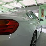 BMW 4シリーズ 柔軟性のある硬く・しなやかなドゥレッザ ガラスコーティング 施工
