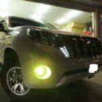 トヨタ ランドクルーザープラド 硬く・しなやかな最高硬度 ドゥレッザ ガラスコーティング 施工