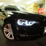 BMW 3シリーズ 320dツーリング 硬く・しなやかな ドゥレッザ ガラスコーティング 施工