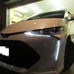 トヨタ エスティマ TRD Sportivo 硬く・しなやかな ドゥレッザ ガラスコーティング 施工