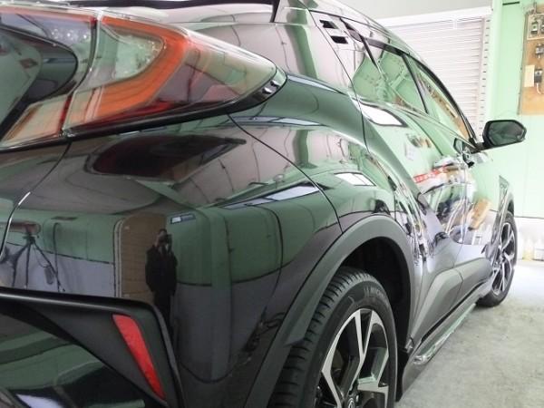 トヨタ C-HRのガラスコーティング