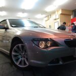 BMW 6シリーズ 645Ciカブリオレ ドゥレッザ ガラスコーティング 施工