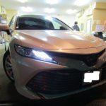 トヨタ カムリ 柔軟性のある・しなやかな硬度7H ドゥレッザ ガラスコーティングを施工
