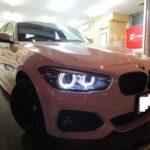 BMW 1シリーズ  柔軟性のある・しなやかな硬度7H ドゥレッザ ガラスコーティングを施工