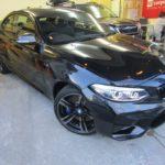 BMW M2 (F87)  柔軟性のある・しなやかな ドゥレッザ ガラスコーティングを施工