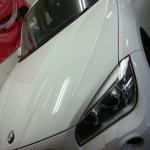 BMW X1 シルフィード カーフィルム 施工行程