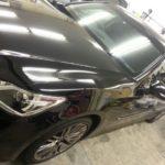トヨタ クラウン フロントガラス・運転席・助手席 高機能断熱フィルム施工