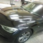 BMW 3シリーズ カーフィルム 高機能断熱フィルムシルフィード施工