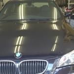 BMW 5シリーズ シルフィード 断熱 カーフィルム 施工