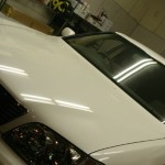 トヨタ セルシオ カーフィルム UV99%カット ルミクールSD 施工