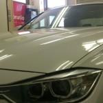 BMW 3シリーズ 紫外線カット プラス 赤外線カット シルフィード カーフィルム 施工