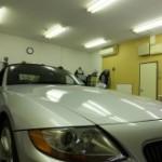 BMW Z4 透明断熱フィルム FGR-500 カーフィルム 施工