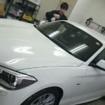 BMW 1シリーズ UVカット プラス 赤外線カット シルフィード カーフィルム 施工