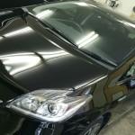 トヨタ プリウス 99%紫外線カット ルミクールSD スモークフィルム 施工