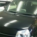 トヨタ シエンタ 99%紫外線カット ルミクールSD カーフィルム 施工