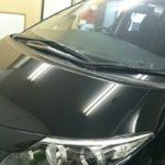トヨタ エスティマ 99%UVカット ニュープロテクション カーフィルム 施工