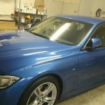 BMW 3シリーズ 赤外線カット断熱フィルム シルフィード カーフィルム 施工