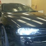 アルファロメオ アルファ156 99%UVカット ルミクールSD 車フィルム 施工