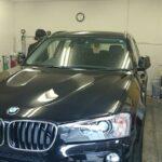 BMW X3 (F25) 高機能断熱フィルム シルフィード カーフィルム・スモークフィルム 施工