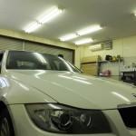 BMW 3シリーズ   99%UVカット ルミクールSD カーフィルム・スモークフィルム 施工