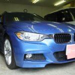 BMW 3シリーズ F30 / F31 赤外線カット 透明断熱フィルム シルフィード カーフィルム 施工