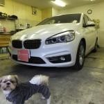 BMW 2シリーズ 218iアクティブツアラー シルフィード カーフィルム 施工