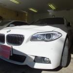 BMW 5シリーズ 523iツーリング 赤外線カット ウインコス カーフィルム 施工
