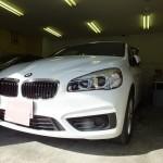 BMW 2シリーズ  218d 赤外線カット ウインコス カーフィルム 施工