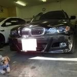 BMW 3シリーズ ツーリング リンテック 赤外線カット ウインコス カーフィルム 施工