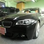 BMW 5シリーズ(5_SERIES)523d 赤外線カット ウインコス カーフィルム 施工
