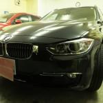 BMW 3シリーズ 328iツーリング ラグジュアリー シルフィード カーフィルム 施工