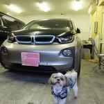 BMW i3(i3) リンテック 赤外線カット ウインコス カーフィルム・スモークフィルム 施工