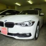BMW 3シリーズ 320dツーリング 赤外線カット ウインコス カーフィルム・車フィルム 施工