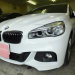 BMW 2シリーズ(2_SERIES)218d リンテック 赤外線カット ウインコス 車フィルム 施工