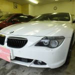 BMW 6シリーズ(6_SERIES)630i 赤外線カット ウインコス スモークフィルム 施工