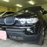 BMW X5 (E70) 2008年モデル リンテック 赤外線カット ウインコス カーフィルム 施工