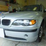 BMW 3シリーズ (E46) リンテック 赤外線カット+UVカット ウインコス 車のスモークフィルム 施工