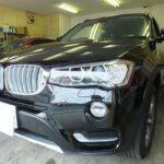 BMW X3 (F25) 2016年モデルに世界最高の赤外線カット率のカーフィルム ベンツなどを取り扱うヤナセ指定の「シルフィード」を施工しました。