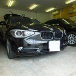 BMW 1シリーズ (F20)に日焼け防止はもちろん!夏場のジリジリ感や冬場の保温性を防ぐカーフィルム「ウインコス」を施工しました。