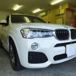 BMW X3 (F25) 赤外線カット ウインコス カーフィルム・車フィルム 施工