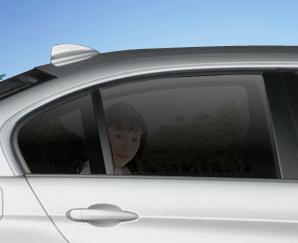 日本のプライバシーガラス透過率25%