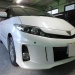 トヨタ エスティマ 赤外線カット プラス UV99%カット ウインコス カーフィルム 施工