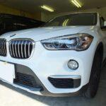 BMW X1 (F48)のカーフィルム(ルミクールSD)施工ならNSコーポレーションへ