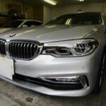 BMW 5シリーズのカーフィルム(シルフィード)施工ならNSコーポレーションへ