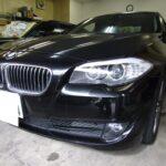 BMW 5シリーズ 528iのカーフィルム(ルミクールSD)施工ならNSコーポレーションへ