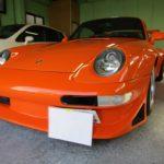 ポルシェ 911 (993) | ポルシェ 911 (993) カーフィルム シルフィード施工